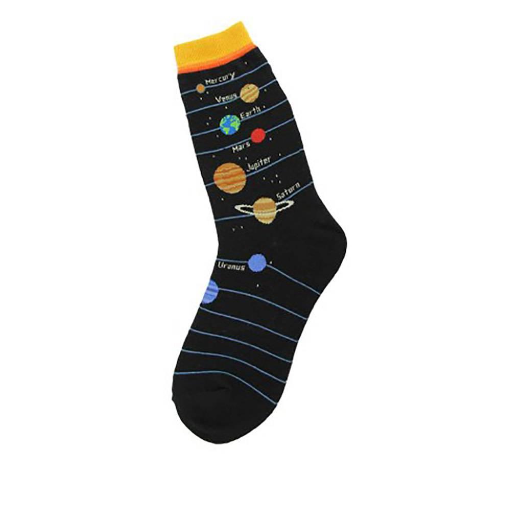 Foot Traffic Planets Women's Socks
