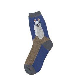 Foot Traffic Llama Women's Socks