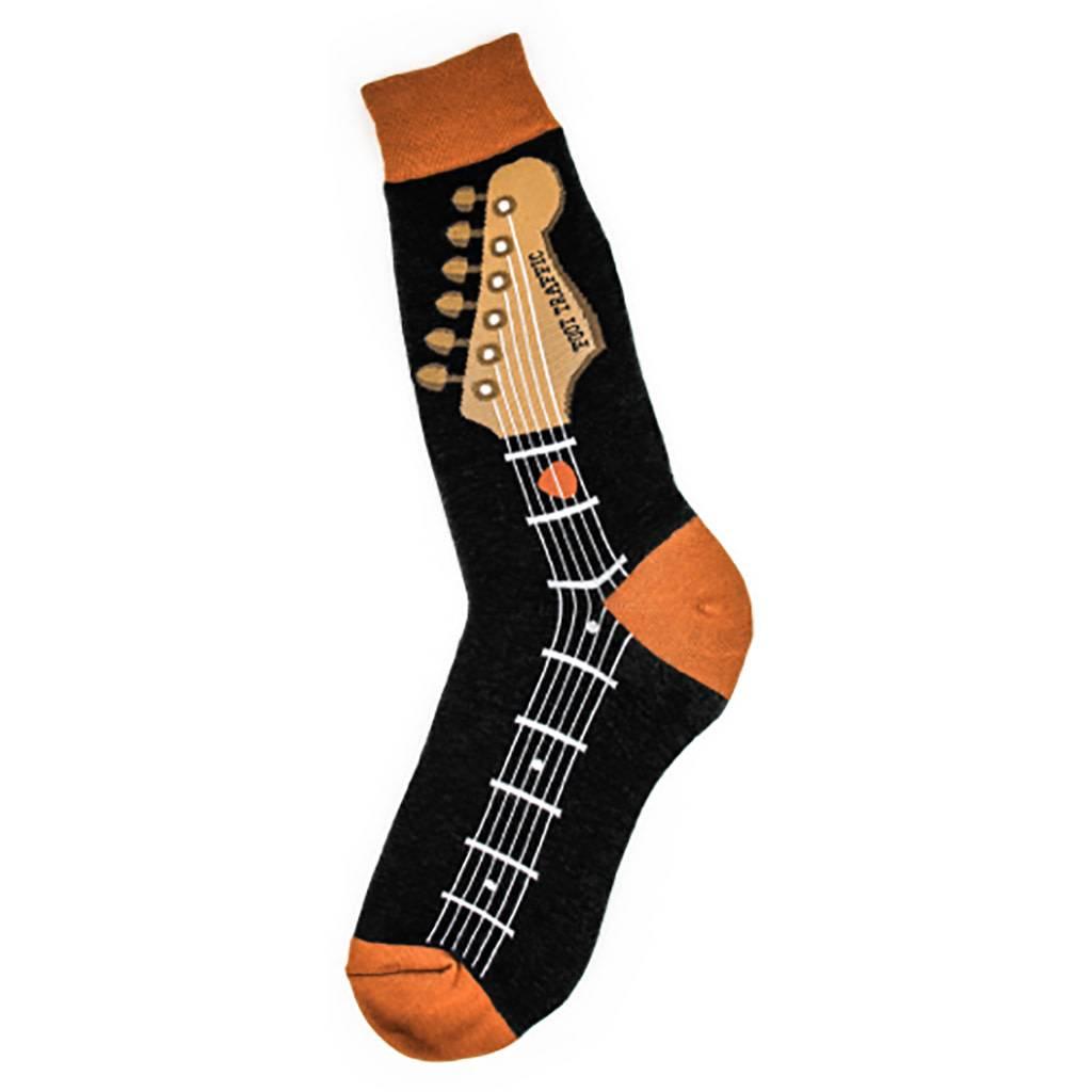 Foot Traffic Men's Guitar Neck Socks