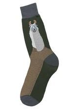 Foot Traffic Llama Men's Socks