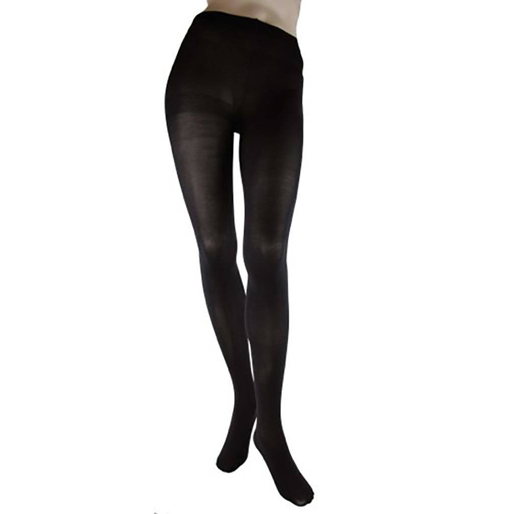 Foot Traffic Solid Microfiber Tights