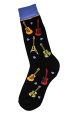 Foot Traffic All Over Guitars Men's Socks