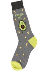 Foot Traffic Avocado Nut Men's Socks