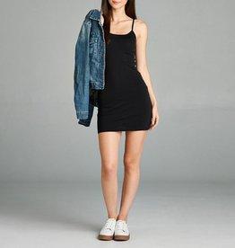 Active Basic Basic Knit Cotton Cami Dress