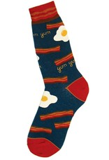 Foot Traffic Bacon N Eggs Men's Socks