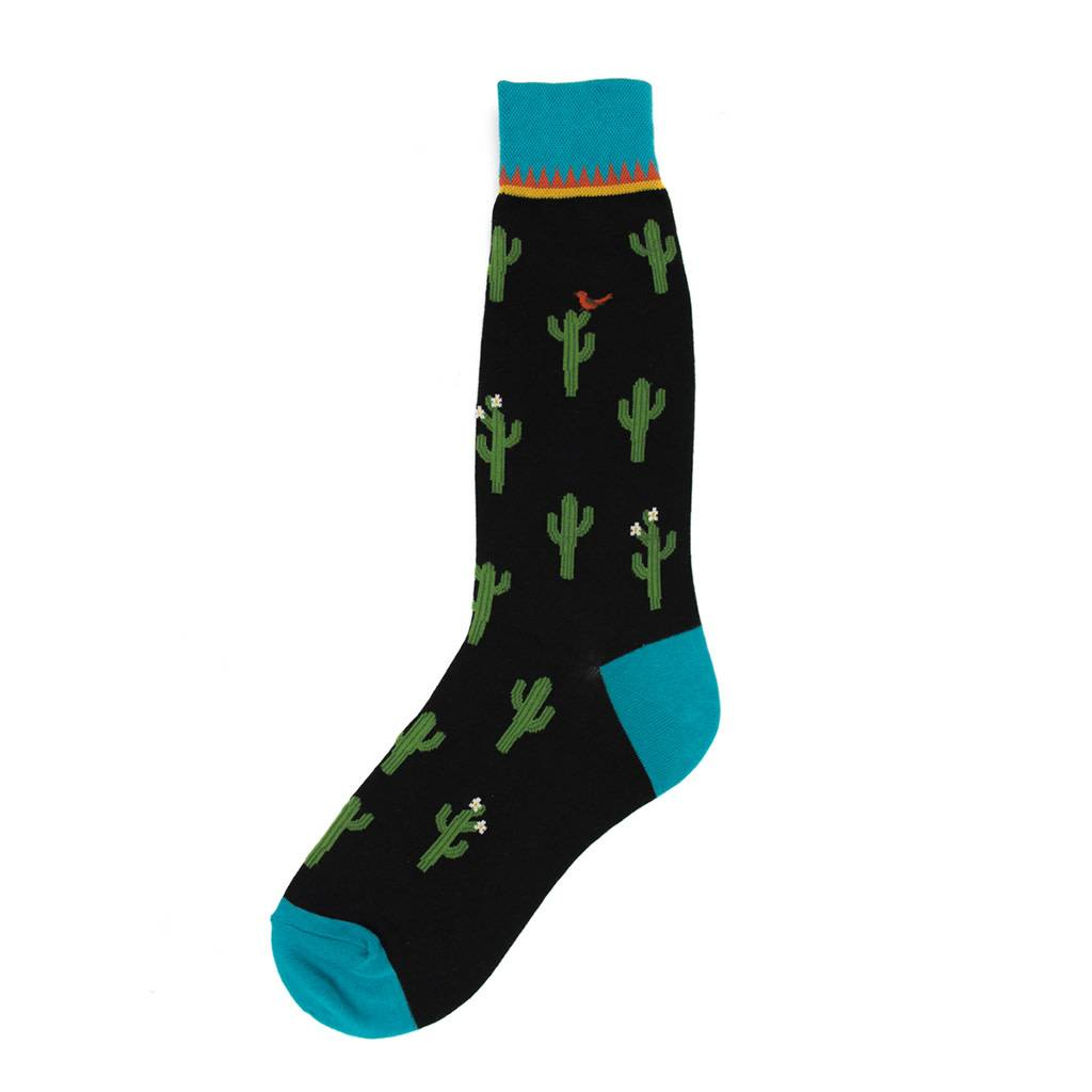 Foot Traffic Cactus Men's Socks