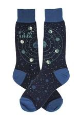 Foot Traffic Just A Phase Men's Socks