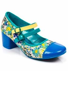 Irregular Choice Irregular Choice - Floral Mini Mod Heels