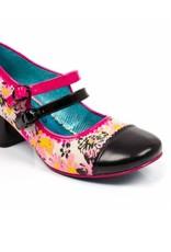 Irregular Choice Irregular Choice - Floral Mini Mod Heels