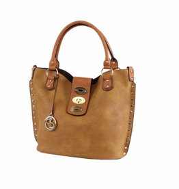 Mimi Wholesale Two-in-One Fashion Bag Tan