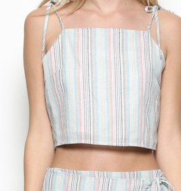 Esley Cabana Crop Top