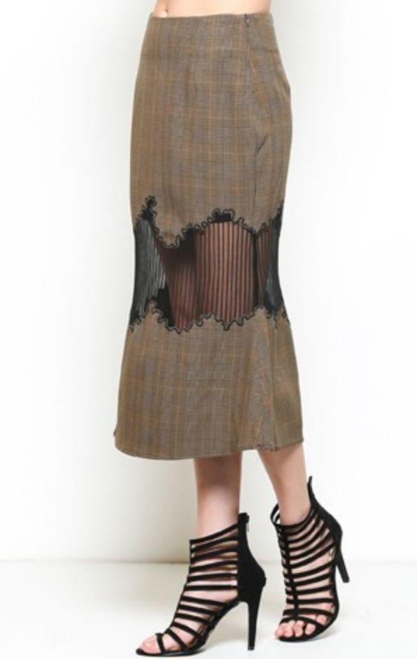 Esley Around the World Skirt