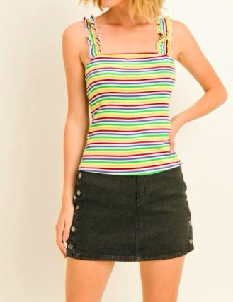 Gilli Stripe City Top