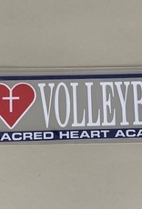 VOLLEYBALL CAR DECAL