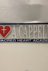 ANGELUS PACIFIC A CAPPELLA CAR DECAL