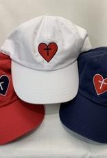 Adams HEART/CROSS CAP