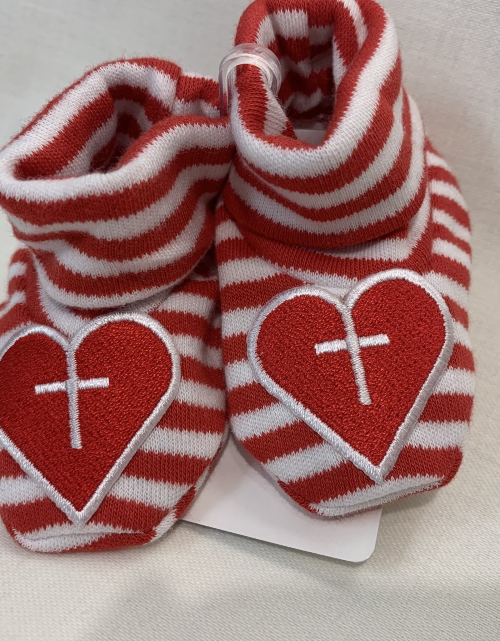 INFANT STRIPED BOOTIE