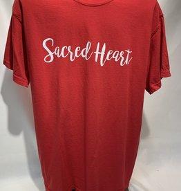 Comfort Colors SACRED HEART SCRIPT SS