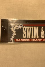 SWIM AND DIVE DECAL