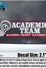 CDI ACADEMIC TEAM DECAL