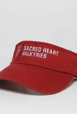 L2 HEART TWILL VISOR