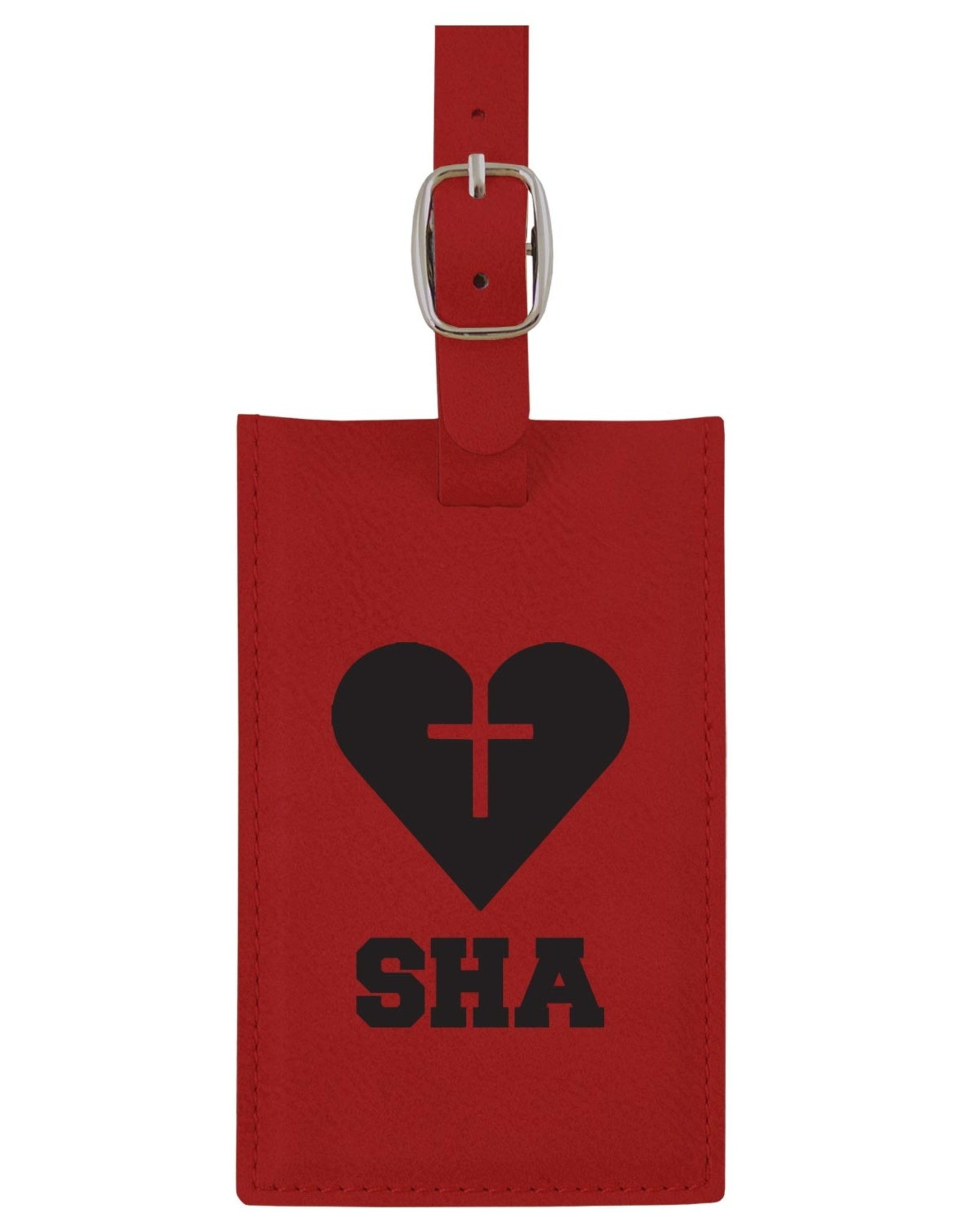 LUGGAGE TAG RED LXG