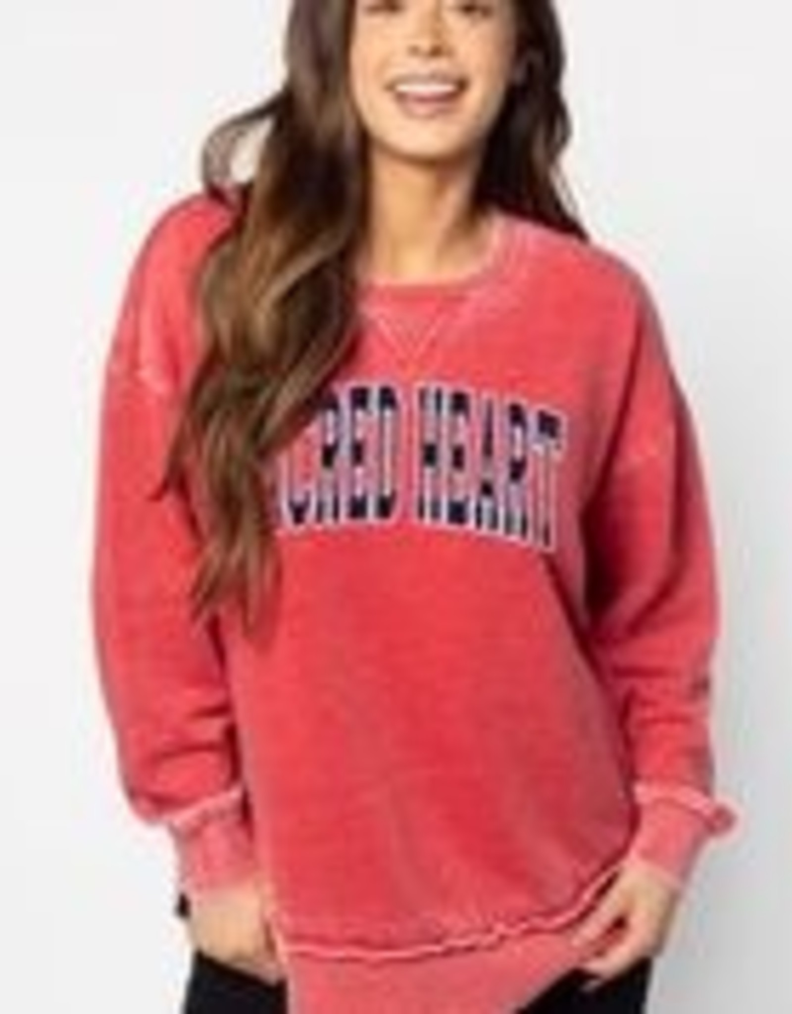 CAMPUS PULLOVER RED
