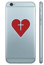 CDI HEART MINI REMOVE DECAL - 2 PACK