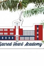 SCHOOL BLDG ORNAMENT