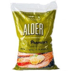 Traeger BBQ . TRG Alder Pellets (20lb)