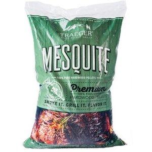 Traeger BBQ . TRG Mesquite Pellets (20lb)