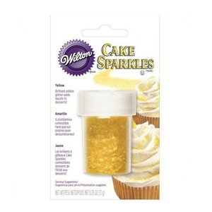 Wilton Products . WIL Cake Sparkles - Yellow