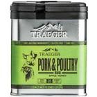 Traeger BBQ . TRG Pork & Poultry Rub 9.25 oz