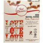 Fat Daddio's  . FAT Royal Icing - Red