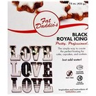 Fat Daddio's  . FAT Royal Icing - Black