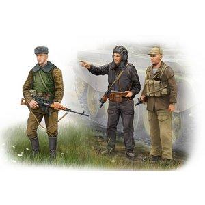 Trumpeter . TRM 1/35 Soviet Soldier -Afghan War