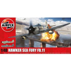 Airfix . ARX 1/48 Hawker Sea Fury Fb.II