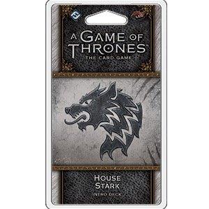 Fantasy Flight Games . FFG A Game Of Thrones LCG: House Stark Intro Deck