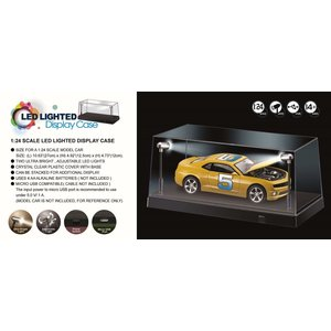 KCR . King Creation 1/24 LED DISPLAY CASE