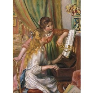 Anatolian . ANA Puzzle: 1000 Young Girls At Piano