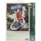 """Dimensions . DMS Counted Cross Stitch Stocking 16"""""""