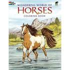 Dover Publishing . DOV Wonderful World Of Horses Colouring Book