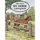 Dover Publishing . DOV My Horse Coloring Book
