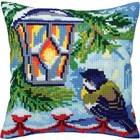 Collection D'Art . CDA Stamped Needlepoint Cushion Kit 40X40cm