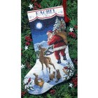 Dimensions . DMS Santa Stocking Counted Cross Stitch