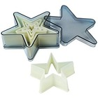 Fat Daddio's  . FAT Star Cookie Cutters 5pc Set