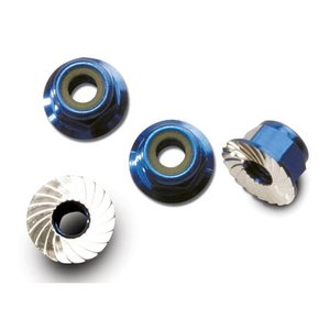 Traxxas Corp . TRA 4Mm Alum Flanged Nylock Nut