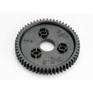 Traxxas Corp . TRA 56T 0.8 P Spur Gear