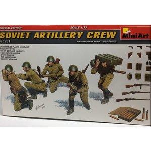 Miniart . MNA 1/35 Soviet Artillery Crew (Special Edition)