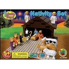 Imex Model Co. . IMX Nativity Scene Construction Block Set